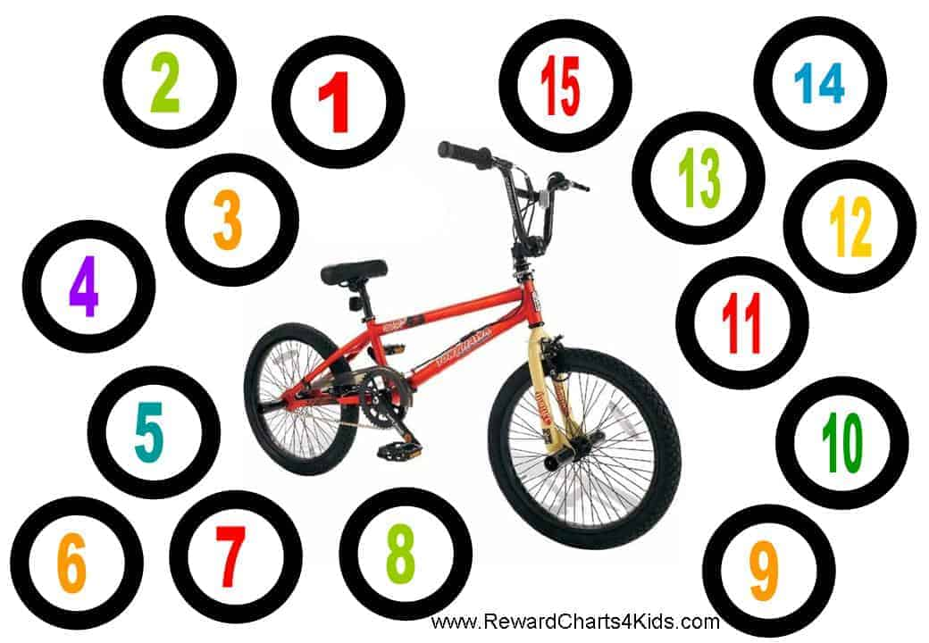 Bmx Reward, Chore And Behavior Charts