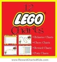 Lego Sticker Charts