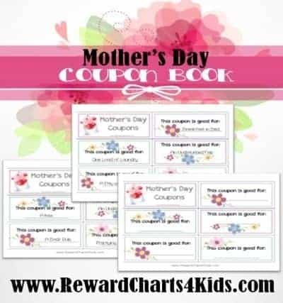 gif certificates for mom (coupons / gift vouchers)