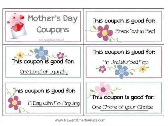 free coupon book for mom customize online print at home. Black Bedroom Furniture Sets. Home Design Ideas