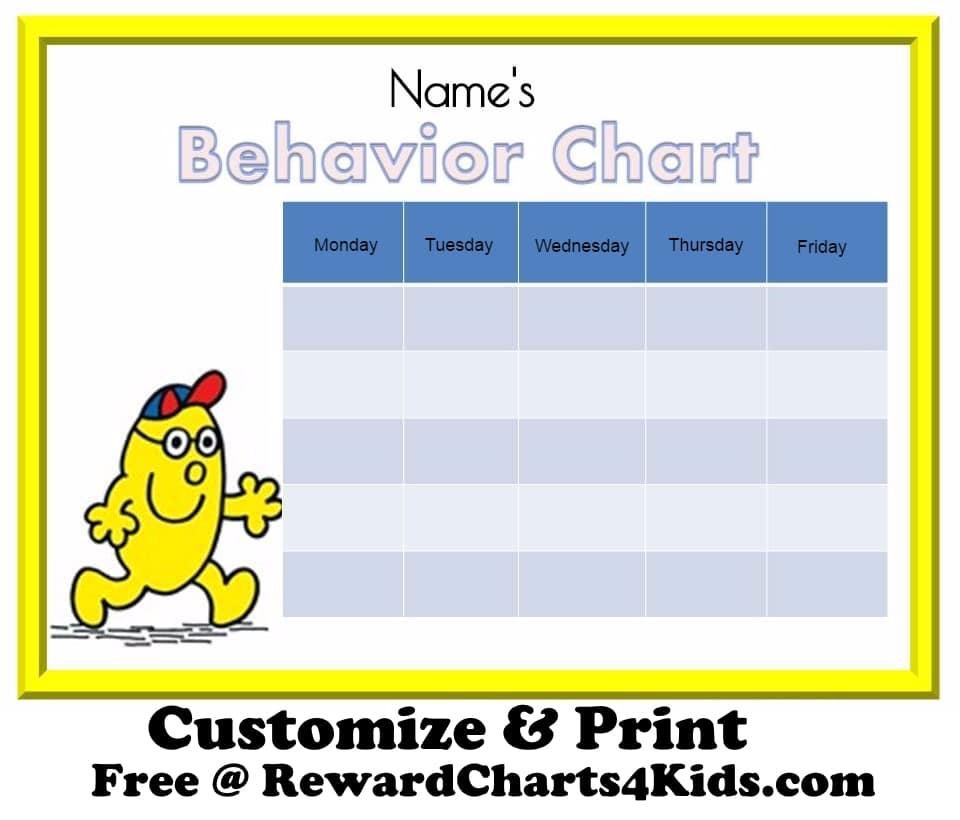 free behavior charts. Black Bedroom Furniture Sets. Home Design Ideas