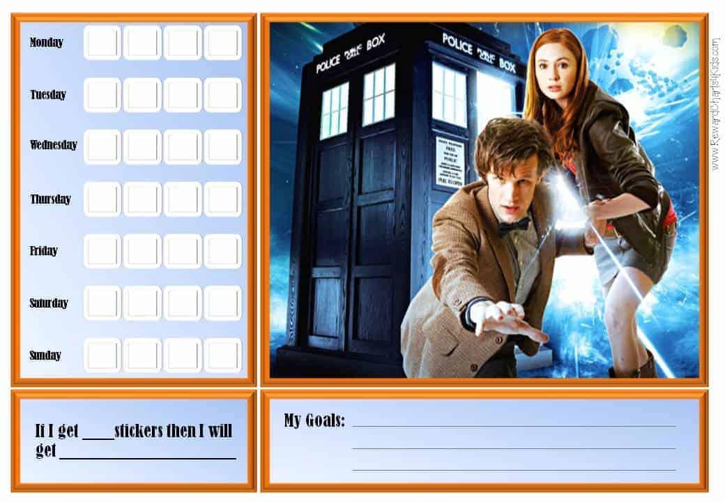 doctor who behavior charts