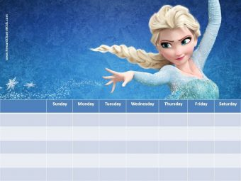 Frozen Reward Chart
