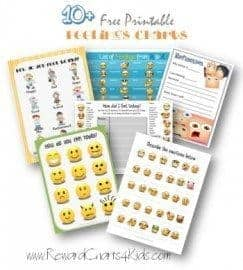 free printable feelings charts
