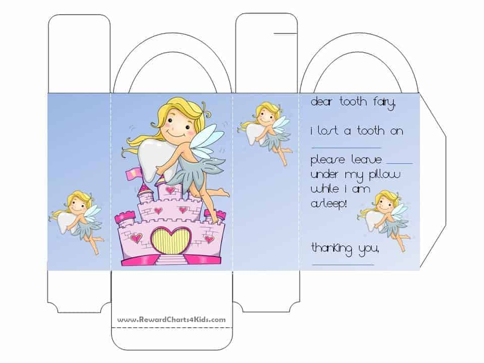 tooth fairy letters tooth letter free printable 25303 | tooth fairy letter 1