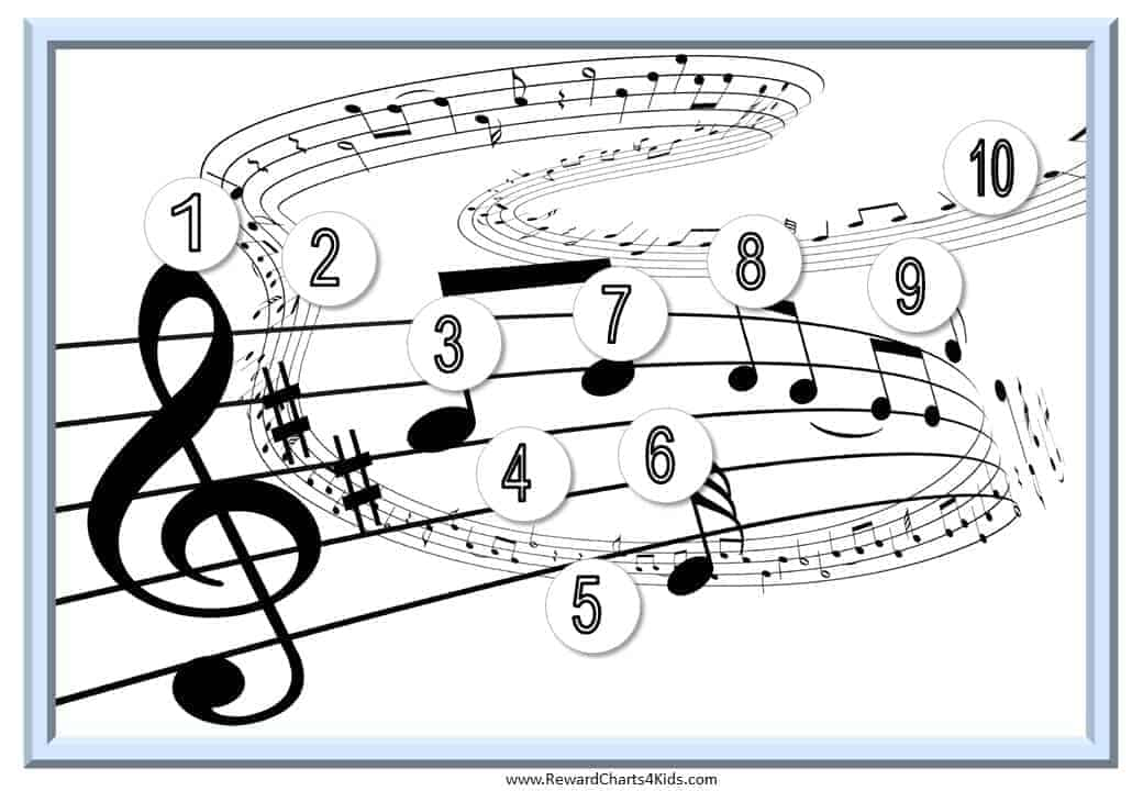 It's just a graphic of Influential Printable Music Practice Log