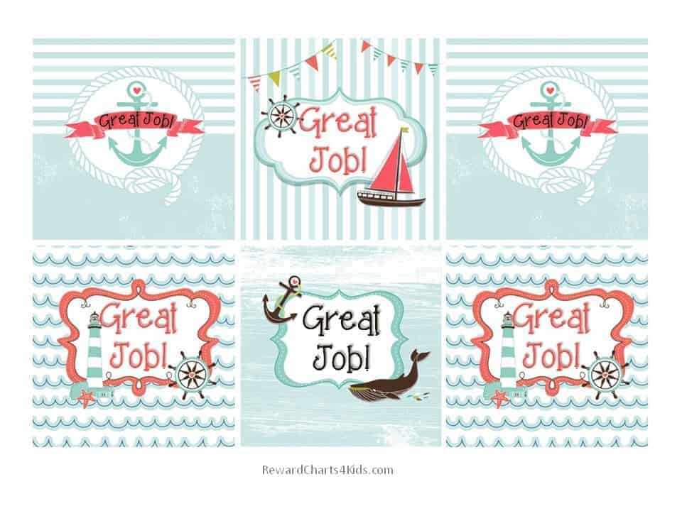 """""""Great Job"""" Printables 
