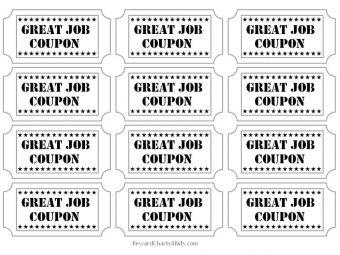 Great job coupon