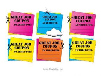 Great job coupons