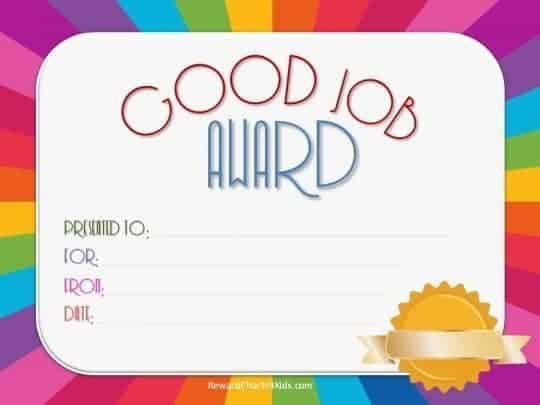Free Good Job sticker printables | Print on paper and ...