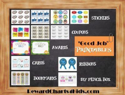 Free Good Job sticker printables | Print on paper and ...