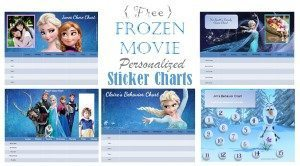 Frozen reward charts