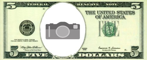 $5 Play Money with Photo