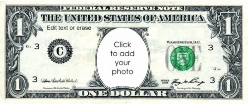 custom fake money template - free custom printable play money template instant download