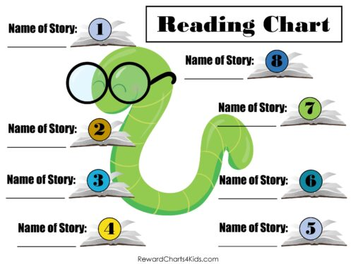 reward charts for reading