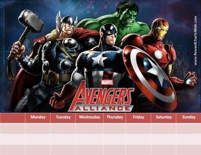Avengers printable