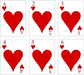 picture relating to Deck of Cards Printable called Free of charge Printable Custom made Enjoying Playing cards Increase Your Image and/or Words