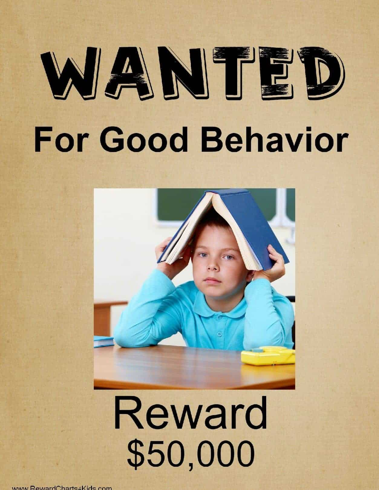Free Printable Wanted Poster  Printable Wanted Posters
