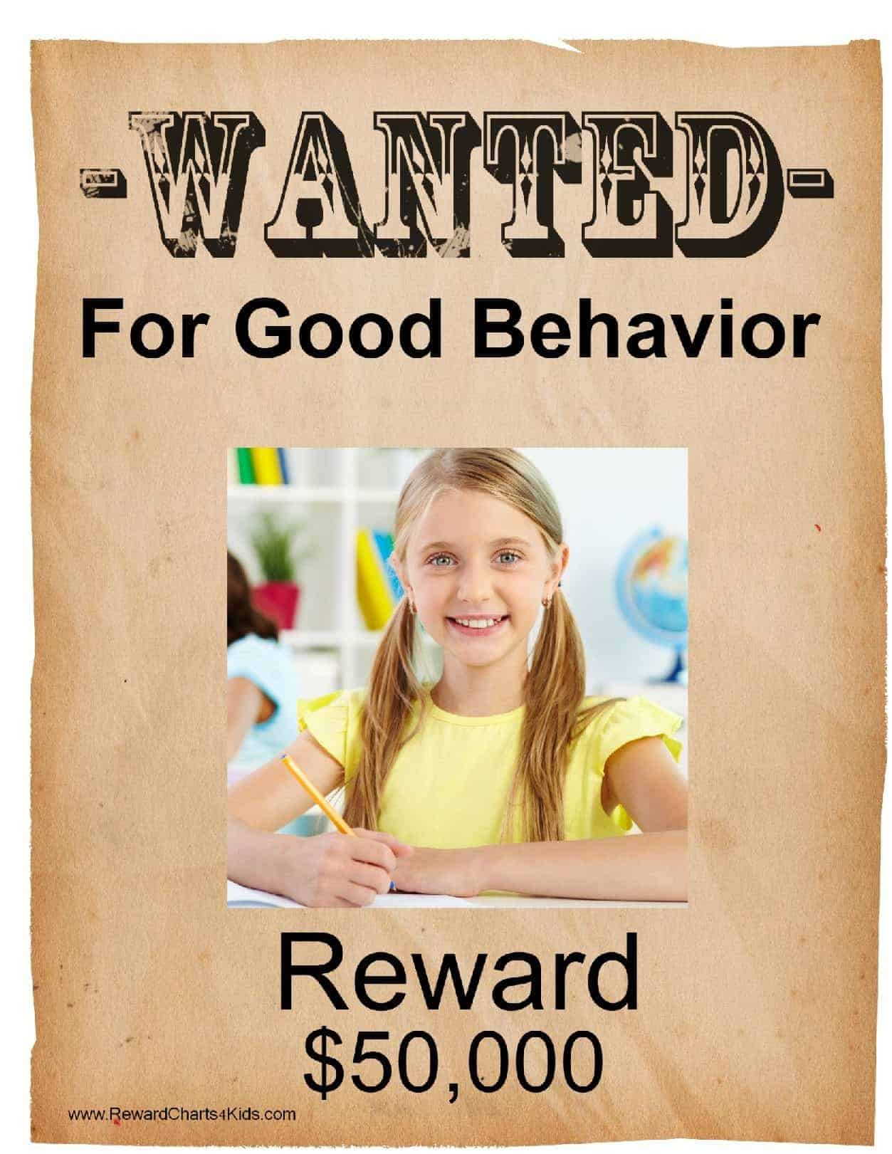 Free Printable Wanted Poster Template | Customize Online & Print at Home