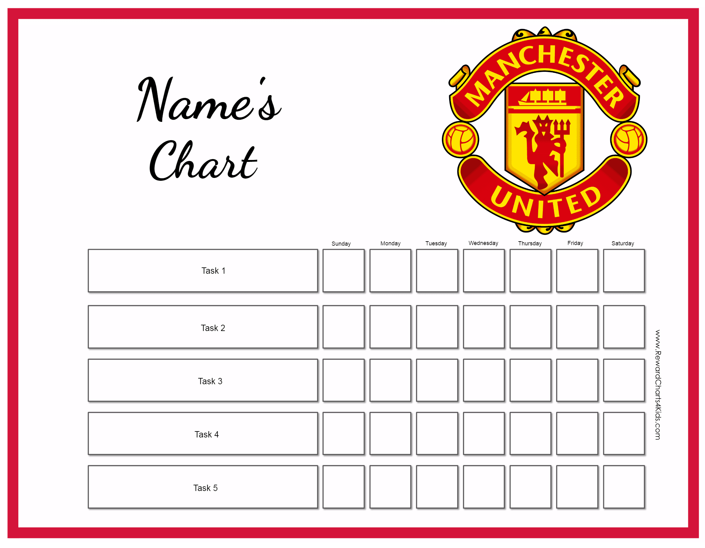 free charts with sports groups