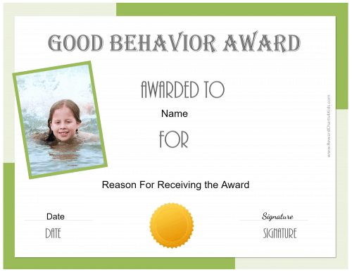 Award for kids