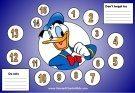 Donald Duck Behavior Chart