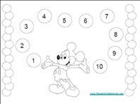 Mickey Mouse Reward Chart