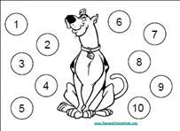 Scooby Doo Behavior Chart