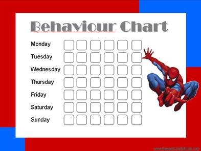 graphic relating to Free Printable Sticker Charts titled Conduct Charts Totally free printable charts