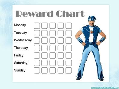 Reward Charts for Kids