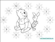 Winnie the Pooh Reward Chart